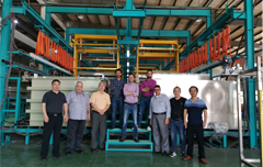 Automatic Copper-Nickel-Chrome plating line high praise from customer